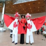 Best stilt walkers entertainers in Ireland perform street theatre, spectacle and circus to audiences in Irish festival and corporate event all over Ireland
